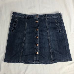 NWOT Denim Skirt